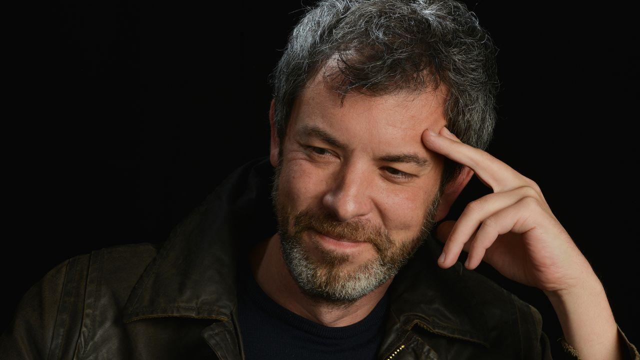"""Pascal Janovjak et son roman """"Le Zoo de Rome"""" remportent le Prix du public RTS 2020. [Guy Buchheit]"""