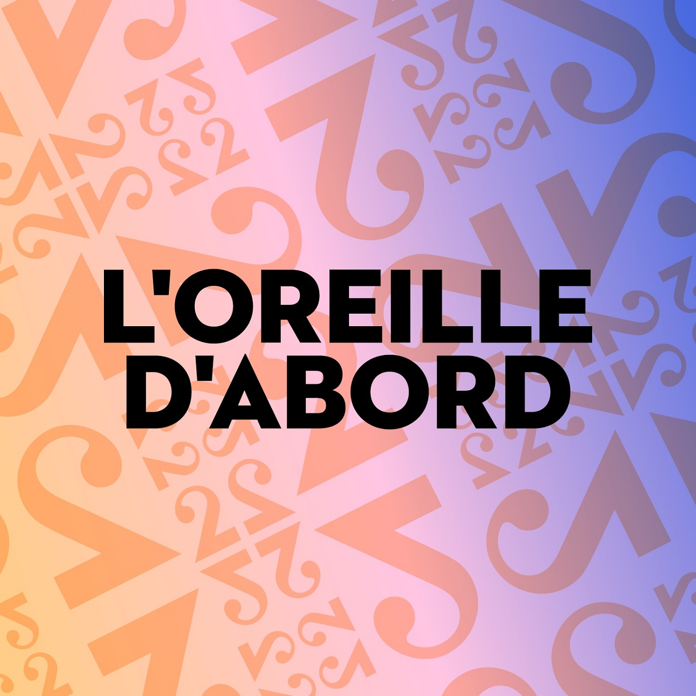 L'oreille d'abord (logo podcast) [RTS]