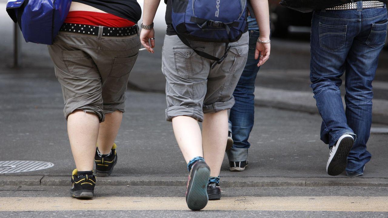 Le surpoids touche plus d'un adolescent sur quatre en Suisse [Alessandro Della Bella - Keystone]