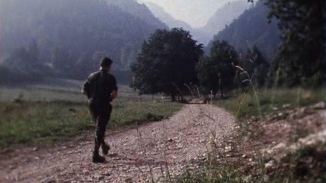 Combe-Grède: réserve naturelle du Chasseral, au départ de Villeret, en 1971. [TSR]
