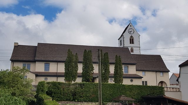 L'église d'Alle. [Odile Graber - Unité Pastorale de la VAB]