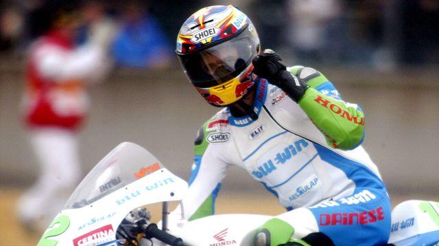 A 18 ans, Thomas Lüthi s'était offert son premier succès au Mans. [Franck Prevel - Keystone]