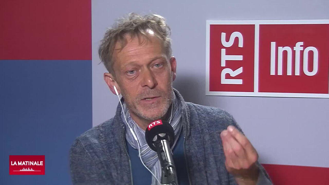 Marc-Antoine Kaeser, archéologue et directeur du Laténium (vidéo) [RTS]