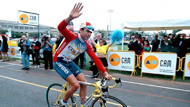Tony Rominger a marqué de son empreinte le cyclisme suisse. [Antonio Pradas - Keystone]