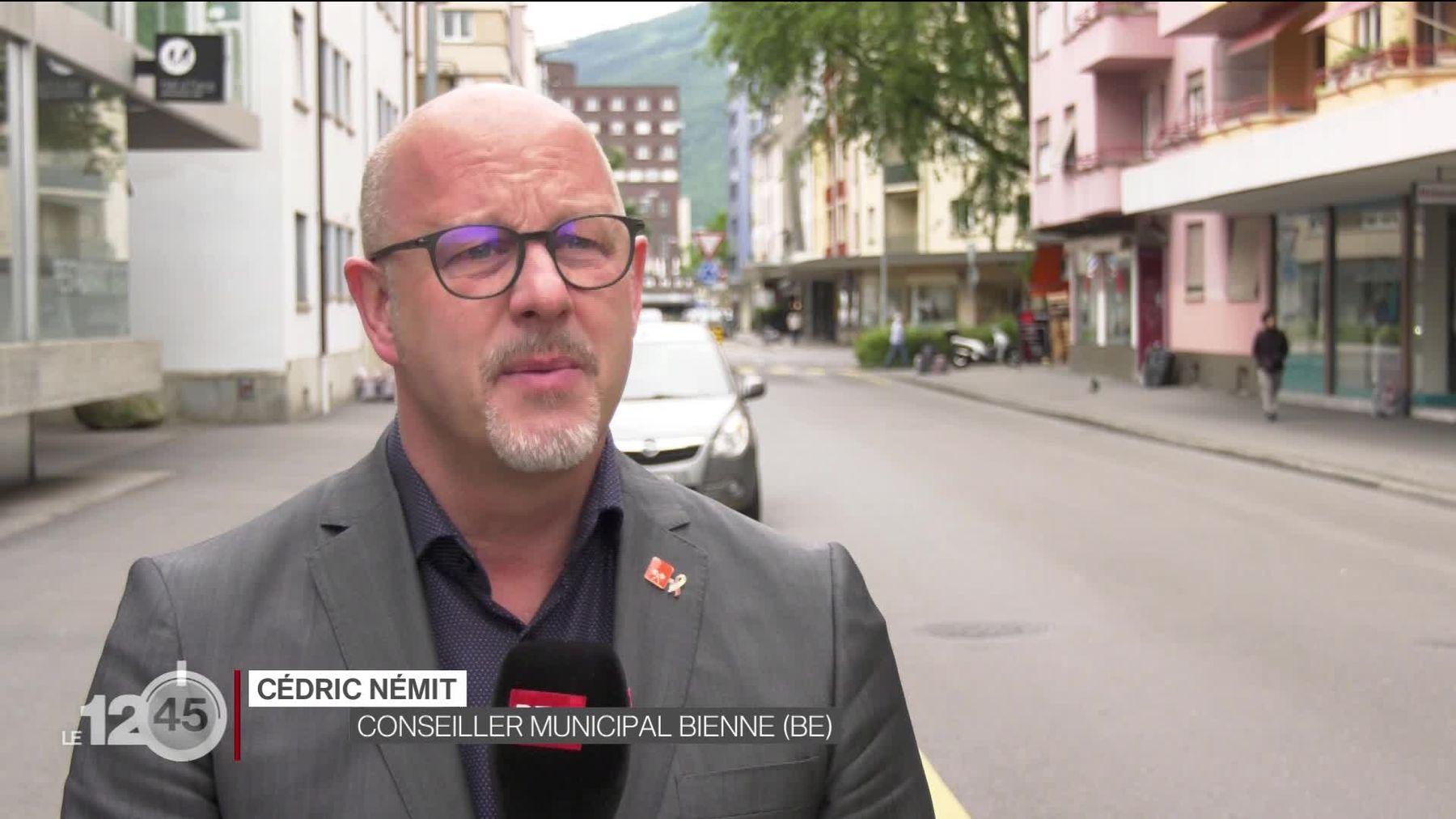 Le conseiller municipal biennois Cédric Nemit explique la campagne de sa ville pour lutter contre l'homophobie