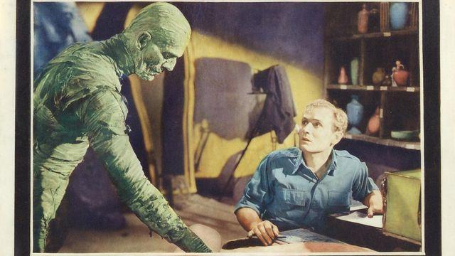Affiche du film La Momie de Karl OFF d'Universal. [Wikimédia - DP]