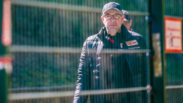 Urs Fischer ne pourra pas être aux côtés de ses joueurs pour la reprise de la Bundesliga. [Andreas Gora - Keystone]