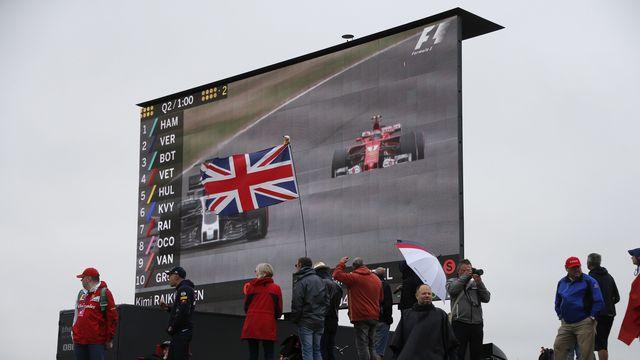 Deux courses de Formule 1 pourraient se dérouler cette année sur le circuit de Silverstone. [Frank Augstein - Keystone]