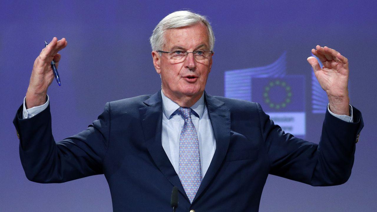 Michel Barnier, le négociateur en chef de l'Union européenne, n'était pas optimiste sur les négociations pour le Brexit. [Francois Lenoir - Pool Photo via AP]