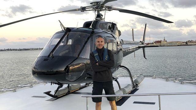 Ara Zobayan (50 ans) était le pilote de l'appareil qui transportait les Bryant le 26 janvier. [Group 3 Aviation - Keystone]