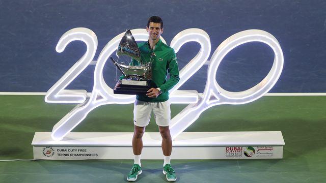 Djokovic s'est imposé à Melbourne et à Dubaï cette année. [Ali Haider - Keystone]