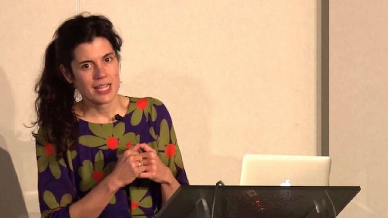 Isabelle Ferreras, professeure de sociologie à l'Université de catholique de Louvain en Belgique. [Twitter]