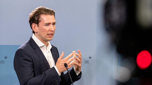 Le chancelier autrichien Sebastian Kurz. [Johann Groder - APA/EXPA/Keystone]