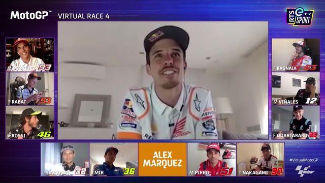 MotoGP: Alex Marquez s'impose [RTS]