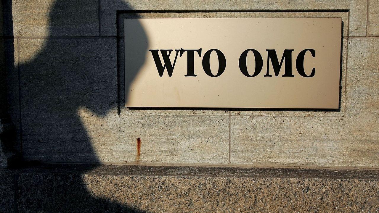 L'OMC prévoit un recul d'un tiers des échanges commerciaux cette année. [Fabrice Coffrini - KEYSTONE]
