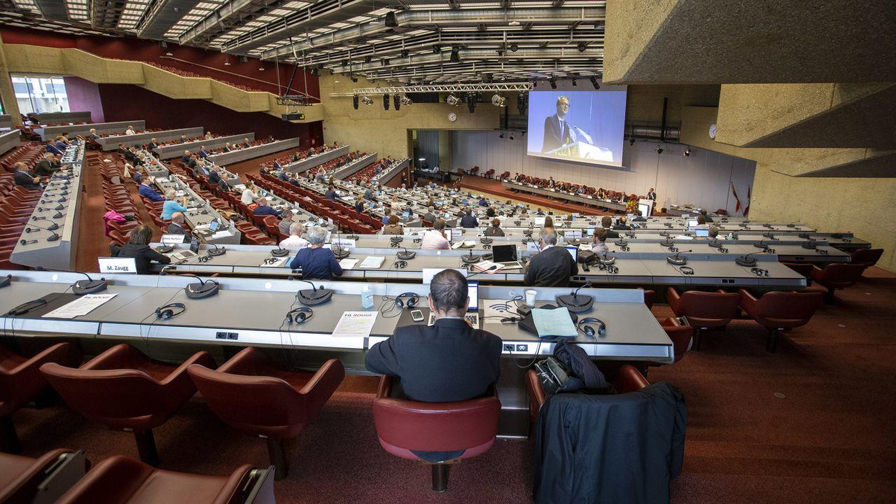 Le Grand Conseil genevois se penchera sur le projet de loi en principe en juin. [Salvatore Di Nolfi - Keystone]