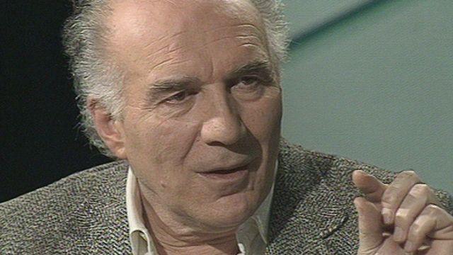 Michel Piccoli en 1990 [RTS]