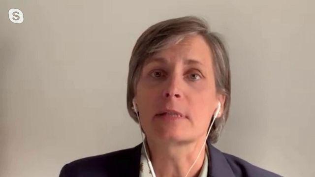 Corinne Le Quéré, climatologue franco canadienne. [RTS]