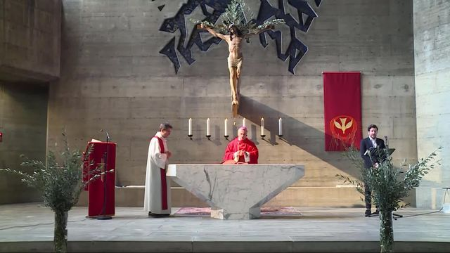 Messe de l'Ascension en direct et en Eurovision depuis la cathédrale Saint-Laurent de Lugano [RTS]