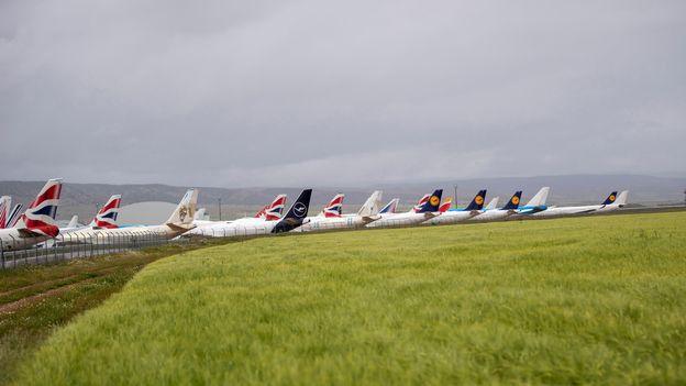 Économie : Affaires florissantes pour un aéroport espagnol grâce aux avions cloués au sol |