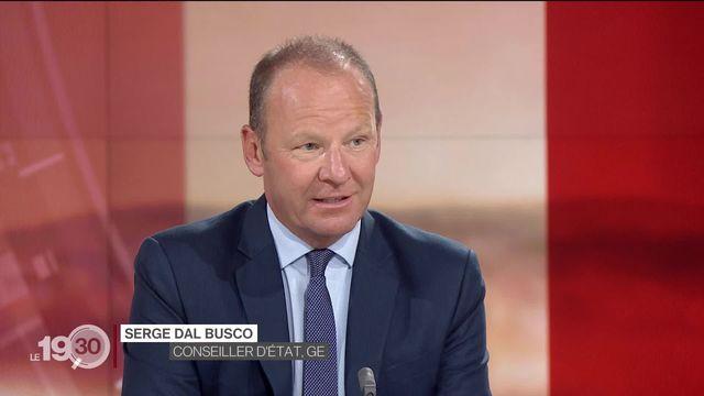 Aéroport de Genève en crise: la réaction de Serge Dal Busco, conseiller d'État en charge de la mobilité [RTS]