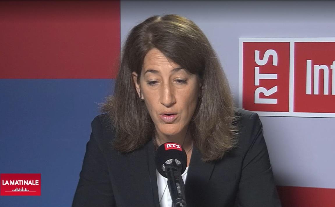 Anne-Geneviève Bütikofer, director of the national organization of H + hospitals.