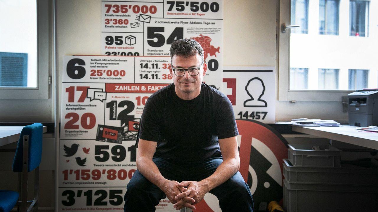 Daniel Graf, fondateur de WeCollect.ch [Nicole Pont - Keystone]