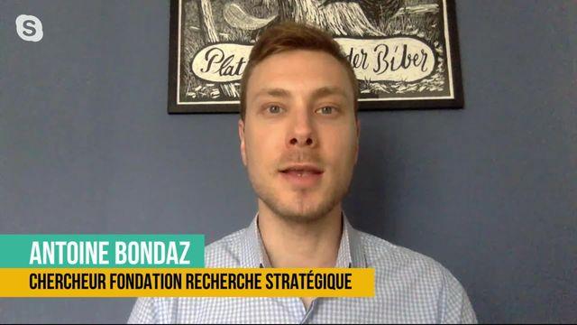 La Chine veut reprendre en main le territoire de Hong-Kong: interview d'Antoine Bondaz [RTS]