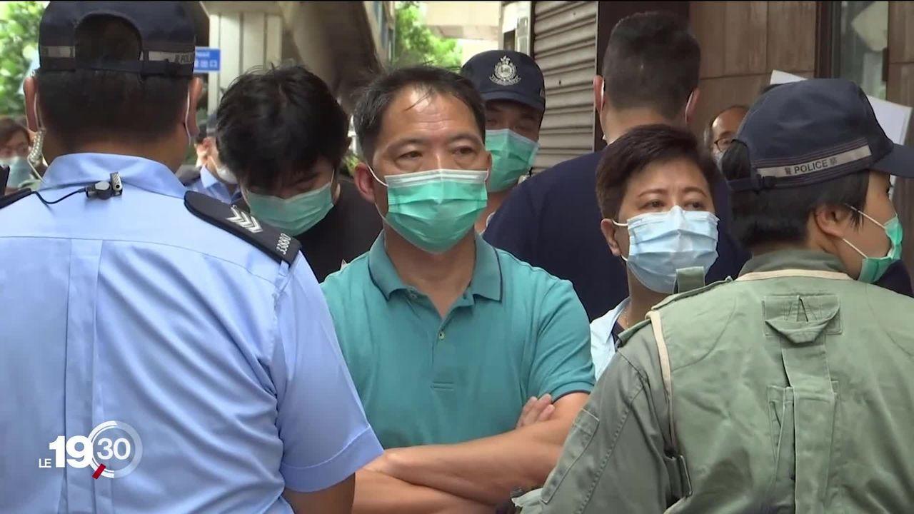 """La Chine veut imposer une loi de """"sécurité nationale"""" à Hong Kong pour remettre au pas le territoire autonome. [RTS]"""