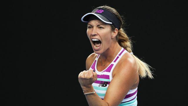 Danielle Collins participe à ce tournoi en Floride. [David Crosling - Keystone]
