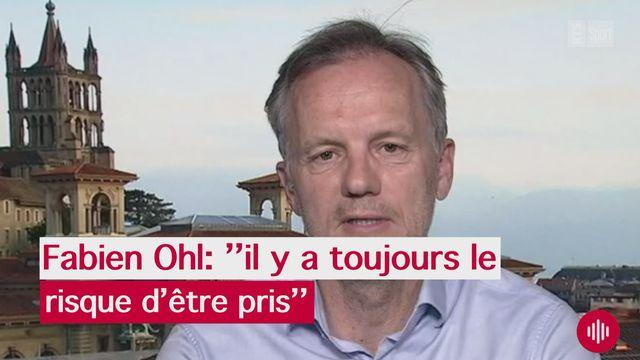 Interview de Fabien Ohl [RTS]