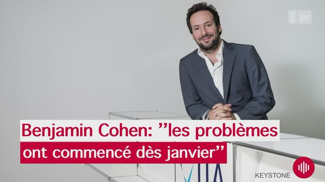 Interview de Benjamin Cohen [RTS]