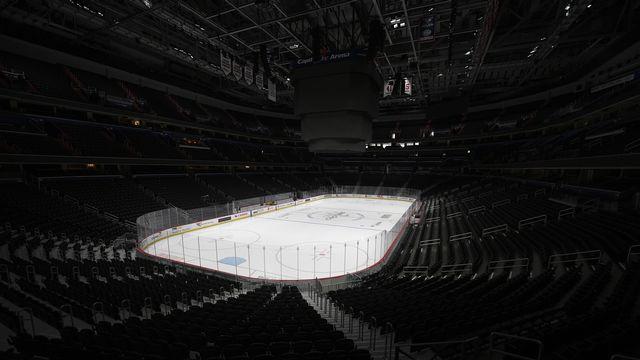 Le plan de reprise de NHL a franchi une nouvelle étape. [Nick Wass - Keystone]