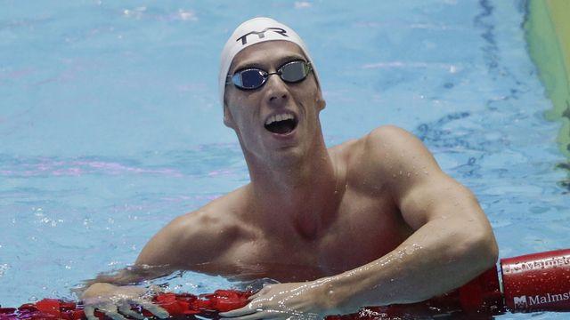 """""""Je peux m'estimer heureux de pouvoir reprendre mon sport, et ma vie du coup"""", avoue Desplanches. [Mark Schiefelbein - Keystone]"""