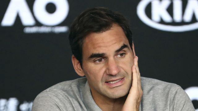 Roger Federer a disputé son dernier match fin janvier à Melbourne. [Dita Alangkara - AP]