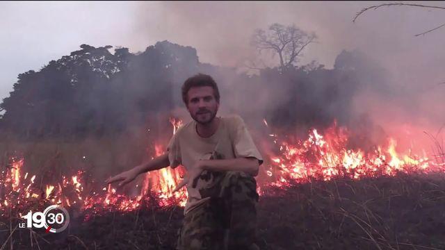 Le biologiste et vidéaste Victor Ammann se passionne pour la nature sauvage, de l'Afrique au Jura. [RTS]