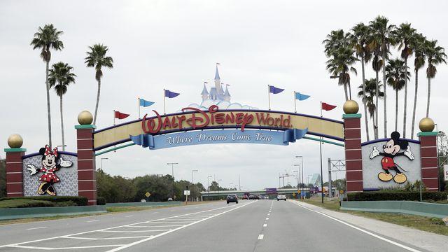 Le Parc de Disney World en Floride, le lieu de fin de saison? [John Raoux - AP]