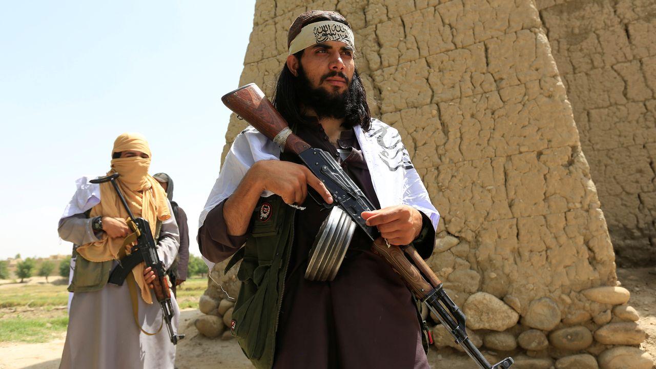 Des talibans en patrouille dans le district de Nangarhar, en Afghanistan. [Reuters]