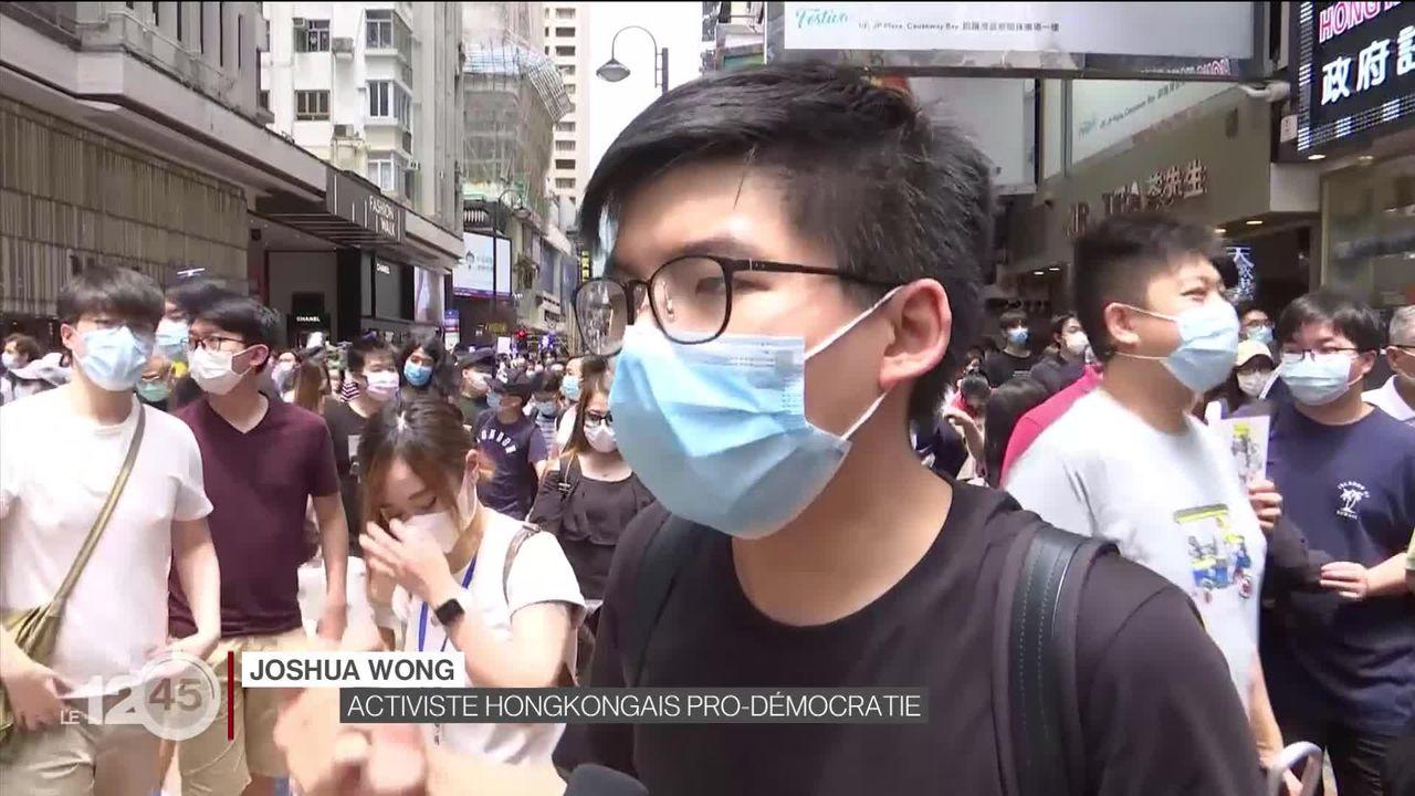 Des milliers de manifestants pro-démocratie défilent dans le centre de Hong Kong [RTS]