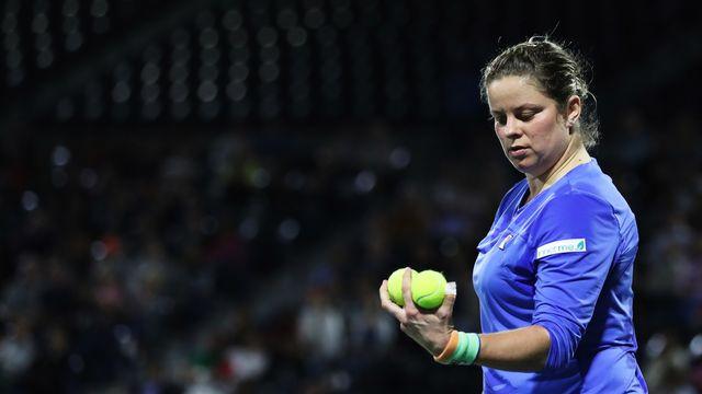 Kim Clijsters avait repris le fil de sa carrière en février dernier. [Ali Haider - AP]