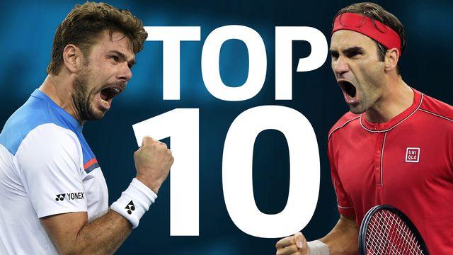 Top 10 Wawrinka & Federer