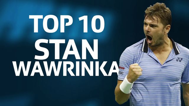 Les 10 plus beaux points de Stan Wawrinka