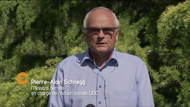 Interview du ministre bernois en charge du social [RTS]
