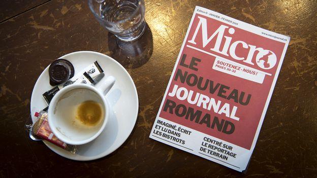 Économie : Le journal des bistrots romands Micro, nouvelle victime du coronavirus |