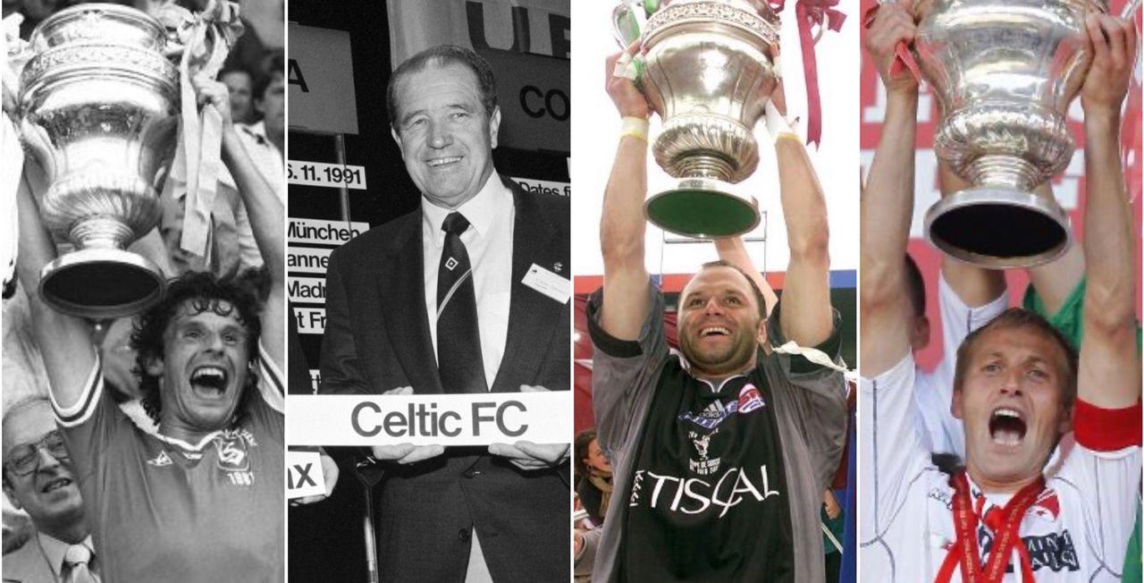 Lausanne en 1981, Xamax en 1991, Servette en 2001 et Sion en 2009. [Keystone]