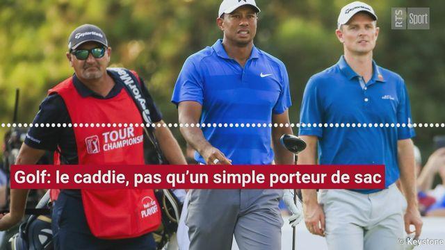 Golf: le caddie, pas qu'un simple porteur de sac [RTS]