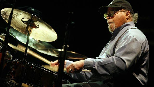 Le batteur américain de jazz Jimmy Cobb. [EPA / Estela Silva - Keystone]