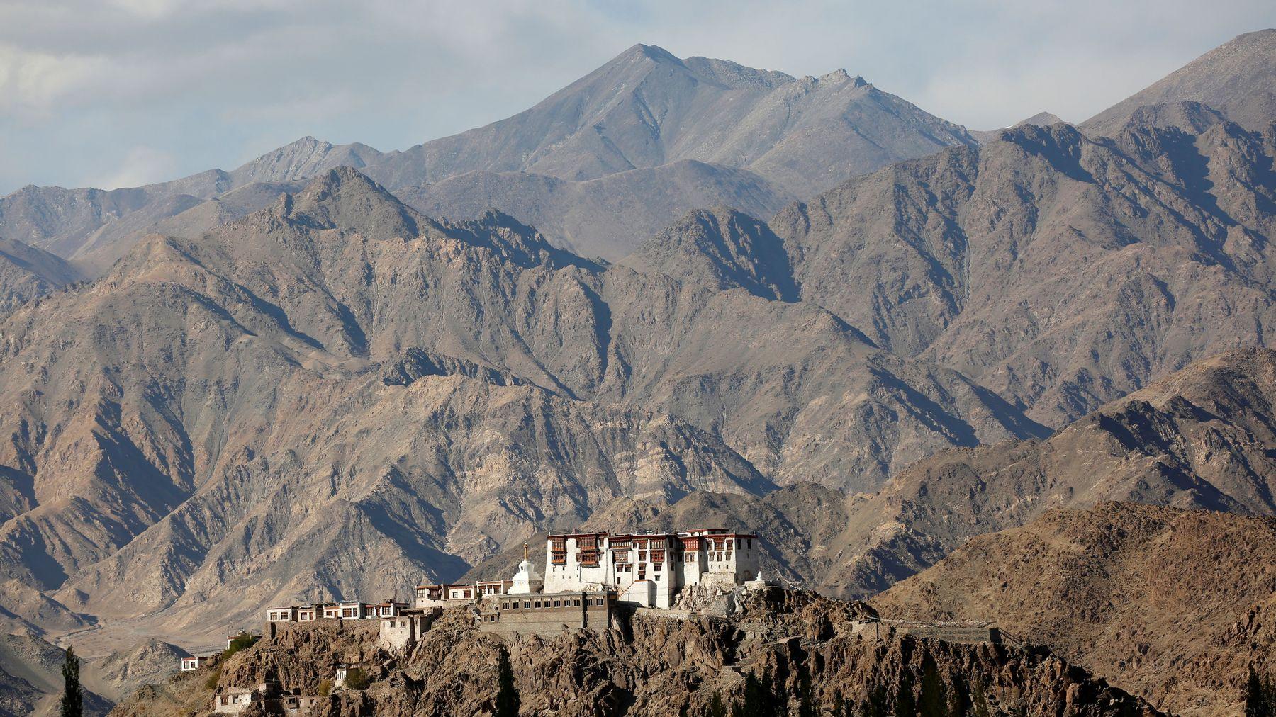 Ici une photo du monastère de Stakna, dans la région himalayenne du Ladakh, à l'extrême nord de l'Inde (image d'illustration).