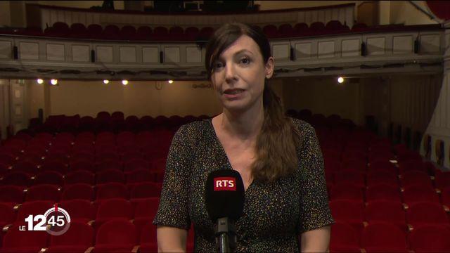 """Natacha Koutchoumov: """"Les normes sanitaires qui nous sont demandées empêchent l'acte créatif pour le spectacle vivant."""" [RTS]"""