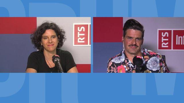 Interview d'Edna Epelbaum et Mathieu Bertholet. [RTS - RTS]